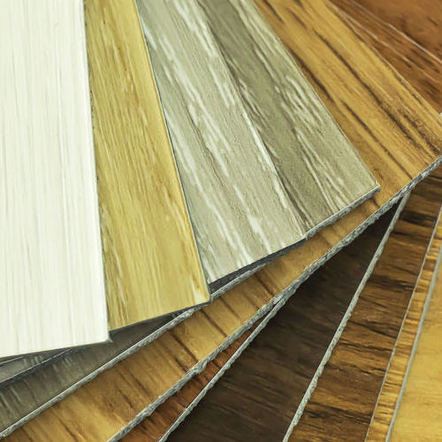 Vinyl Flooring Samples.