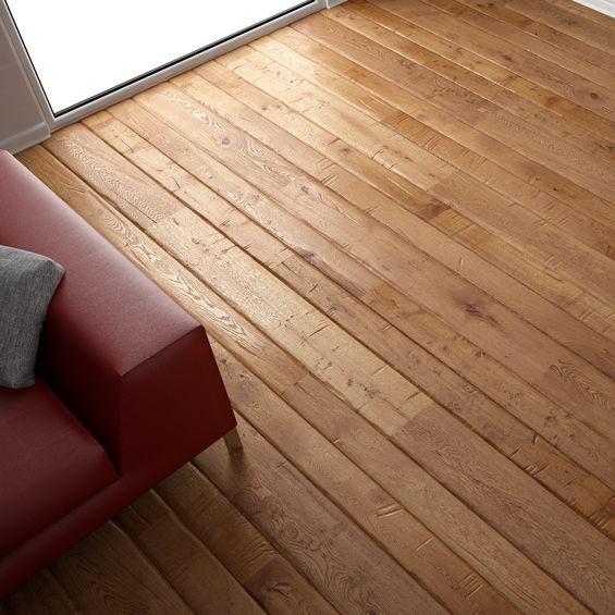 hardwood floor installed