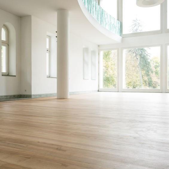 clean hardwood flooring