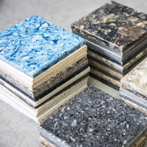 different granite types for selection