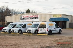 dfw flooring warehouse building