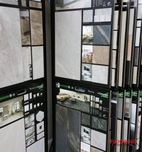 Flooring Samples in Showroom
