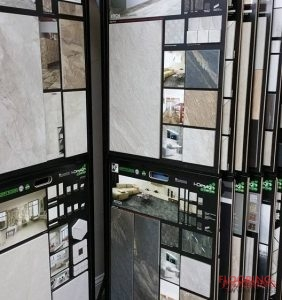 Flooring Types Display