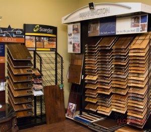 hardwood samples stands